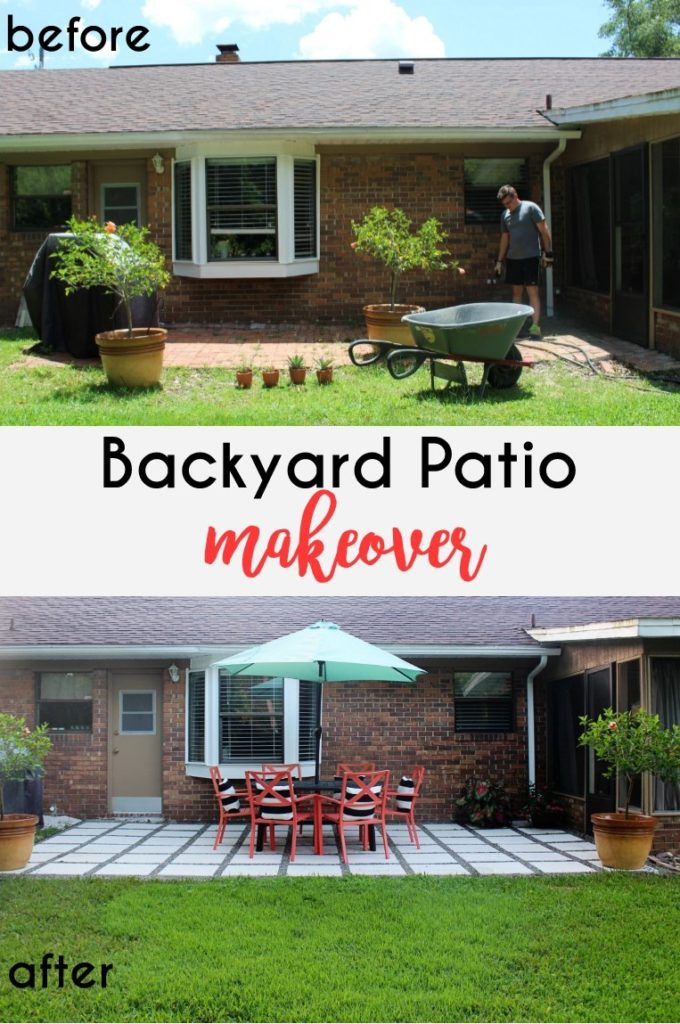 Home Project // Backyard Patio Makeover on Outdoor Patio Makeover id=90257